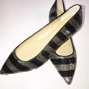 Michael Kors Arianna Flat Striped Flats
